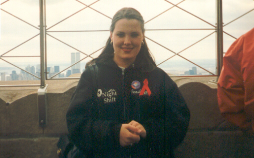 Me on the Empire State Building
