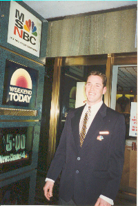 NBC tour guide, Jason